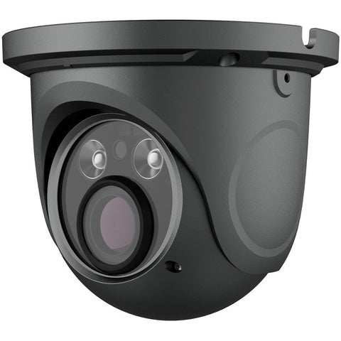12 x TVT 5MP Grey Eyeball H.265 IP Cam,30m IR, Zoom 3.3-12mm - csmerchants.com.au