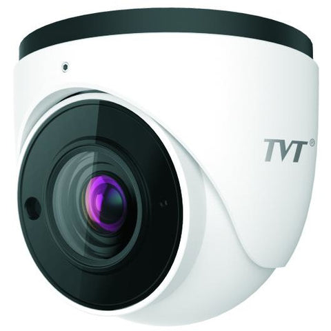 TVT  TVT 8MP Eyeball WDR H.265 IP Cam, 30-50m Smart IR, Zoom3.3 CSM