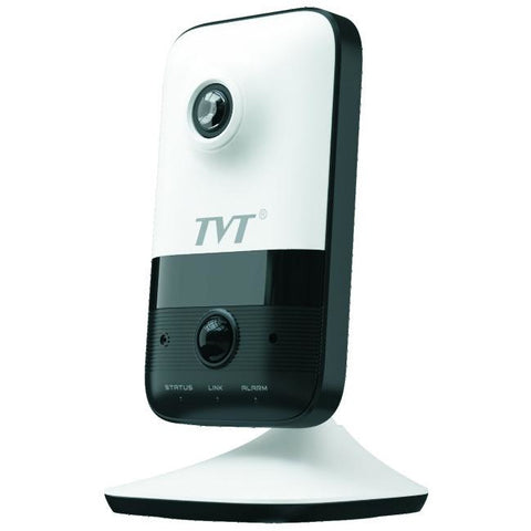 TVT  TVT 2MP WiFi IPC,Cube,H.265,PoE,SPK,MIC,10m IR, Indoor,2.8mm CSM