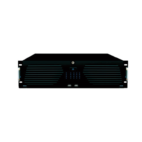 TVT 64CH 8MP 4K H.265 NVR 16SATA Bays fitted 4TB HDD