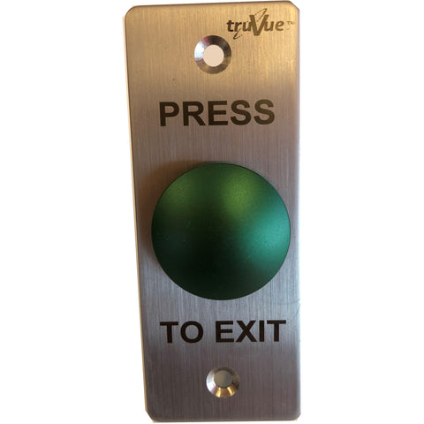 TruVue NO/NC/COM,EXIT BUTTON,90x35mm,Green Mushroom CSM security suppliers Security wholesalers