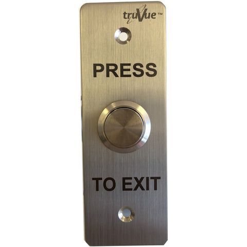 TruVue NO/NC/COM,EXIT BUTTON,115x40mm CSM security suppliers Security wholesalers