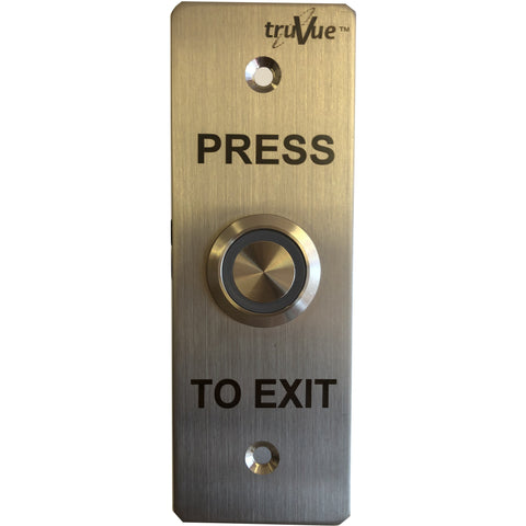 TruVue NO/NC/COM,EXIT BUTTON,115x40mm,Green LED CSM security suppliers Security wholesalers
