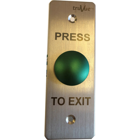 TruVue Green Mushroom NO/NC/COM,EXIT BUTTON,115x40mm CSM security suppliers Security wholesalers