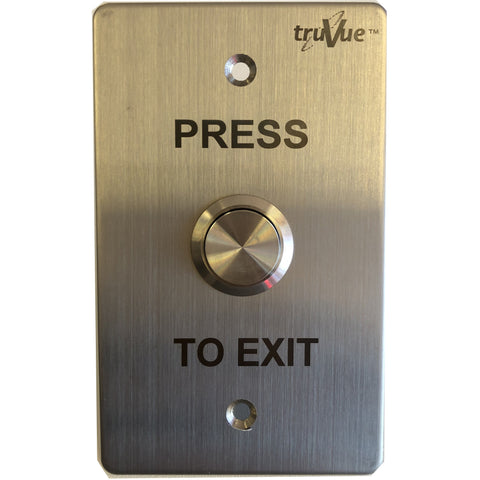 TruVue NO/NC/COM,EXIT BUTTON,115x70mm CSM security suppliers Security wholesalers