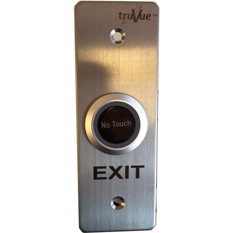 TruVue NO/NC/COM,EXIT BUTTON,NO TOUCH,115x40mm, Sen Dis Adj CSM security suppliers Security wholesalers