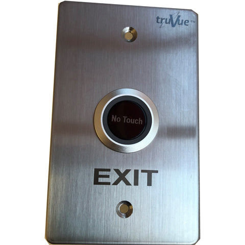 TruVue NO/NC/COM,EXIT BUTTON,NO TOUCH,115x70mm,Sen Dust Adj CSM security suppliers Security wholesalers