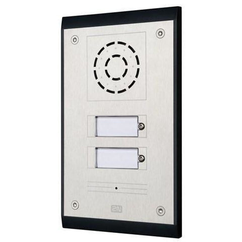 IP UNI 2 Buttons (Contains Brick Flush Mount Box)