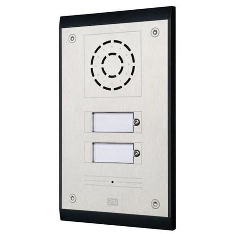 IP UNI 2 Button (Contains Brick Flush Mount Box) CSM