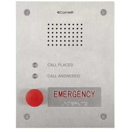 Comelit 3460EA VIP Audio Ent Panel for Emergency Calls CSM security suppliers Security wholesalers