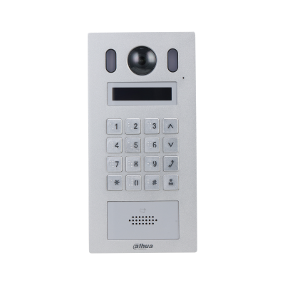 Dahua Mini Apartment Outdoor Station with Card reader IK08 IP55 CSM security suppliers Security wholesalers