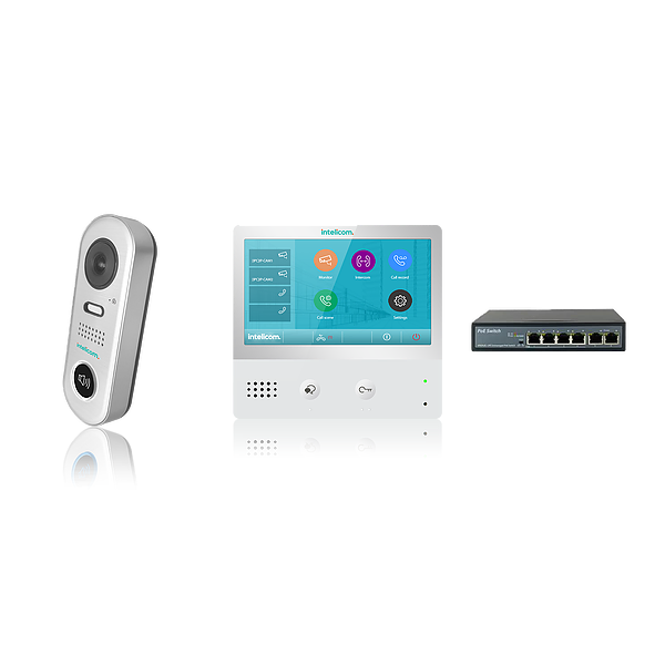 Intelicom IP Kit with Villa Entry CSM security suppliers Security wholesalers