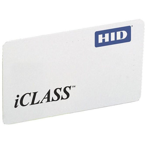 HID 2001 iClass 13.56MHz ISO Card 16K2 - Pre-Programmed