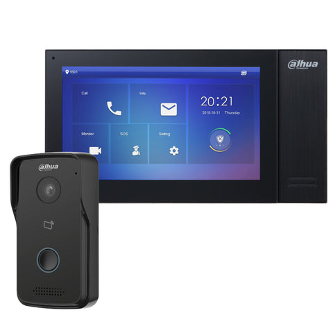 Dahua IP Villa Door Station & Indoor Monitor Intercom CSM security suppliers Security wholesalers
