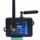 Palgate  3G/4G GSM Controller - 1 x Relay and  50 x users no remote ability - This device can not be upgraded with additional users CSM