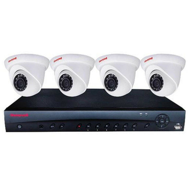 Honeywell KIT w 4CH NVR 4POE,1TB,4 x 3MP Eyeball Camera CSM security suppliers Security wholesalers