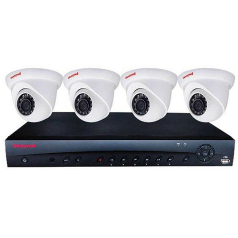 Honeywell  Honeywell KIT w 4CH NVR 4POE,1TB,4 x 3MP Eyeball Camera CSM