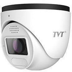 TVT  TVT 5MP Perimeter Alert AI IPC Eyeball,SPK,Light,IR,2.8-12mm CSM