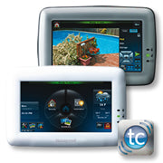 Honeywell VISTA TUXEDO WIFI T/SCREEN K/P - SILVER CSM security suppliers Security wholesalers