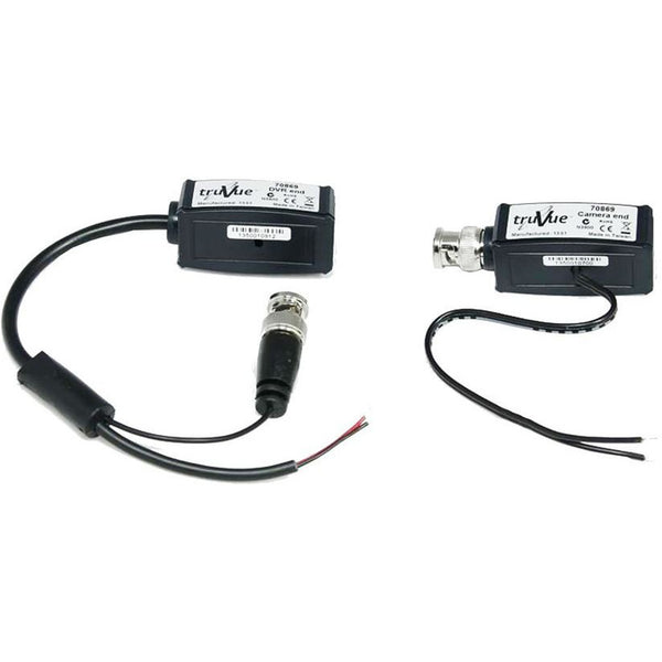 TVT TruVue Video & Power BNC to RJ45 Balun Kit