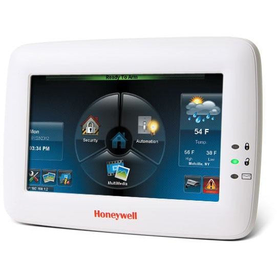 Honeywell VISTA TUXEDO WIFI T/SCREEN WHITE CSM security suppliers Security wholesalers