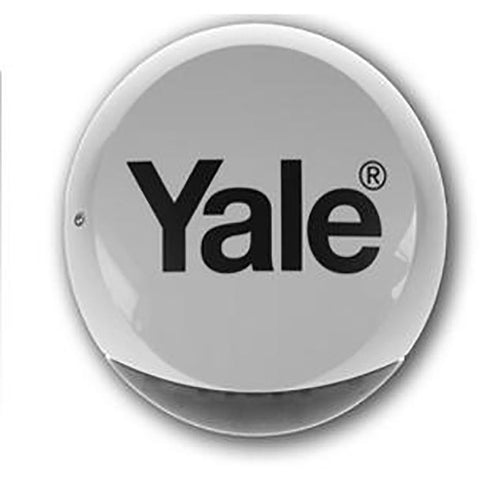 Yale Wireless Bell Box - White CSM security suppliers Security wholesalers