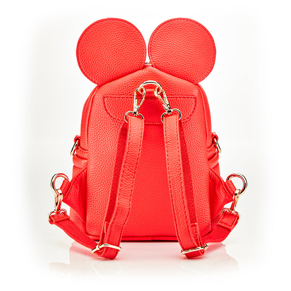 Personalised Children's Ears Backpack Bag - Red