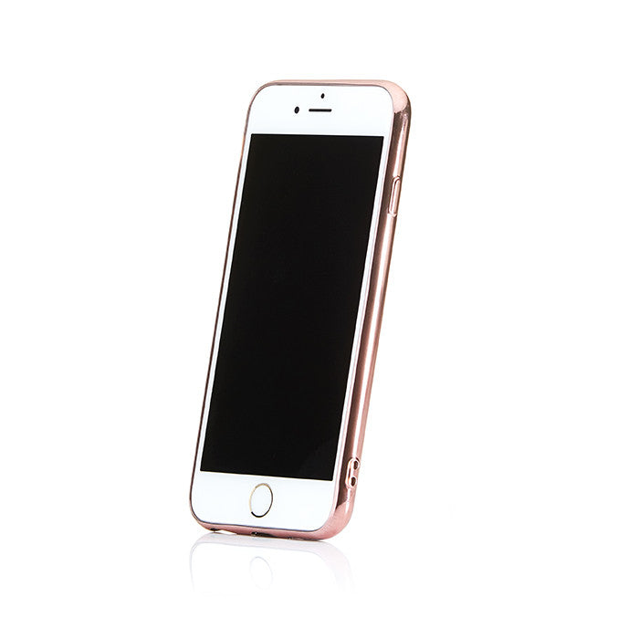 Personalised Rose Gold Saffiano Phone Case - Ivory