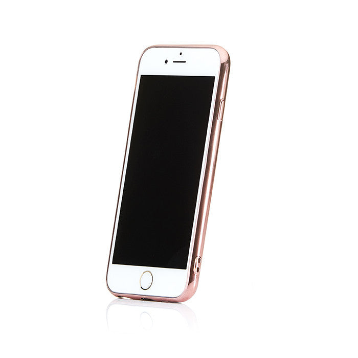 Personalised Rose Gold Saffiano Phone Case - Black