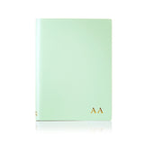 Personalised Ruled Notebook - Mint