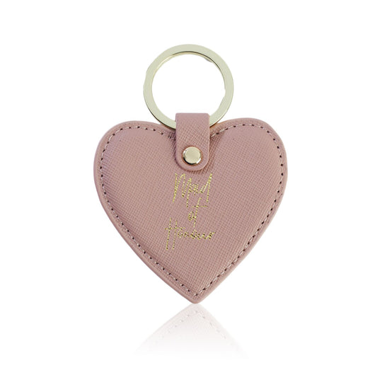Maid Of Honour Nude Heart Key Ring