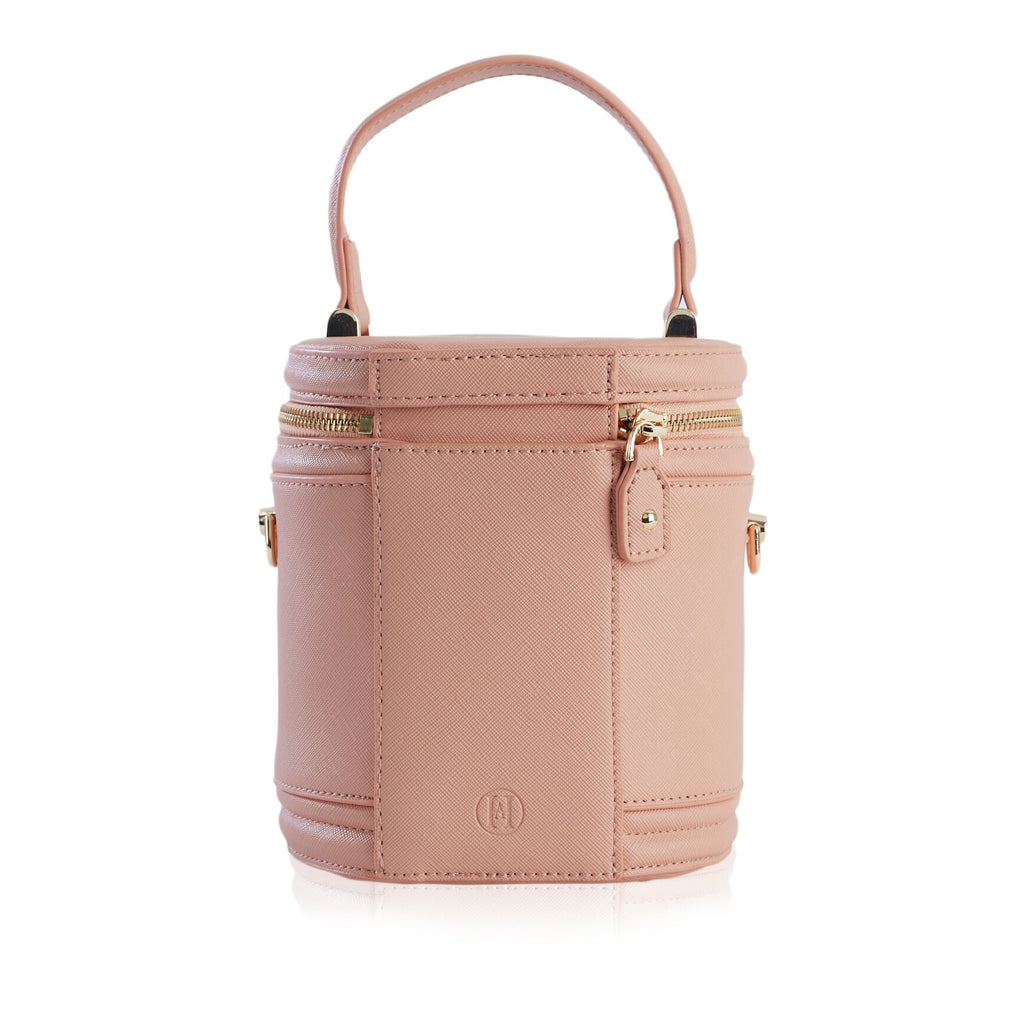 Personalised Cannes Barrel Bag - Nude