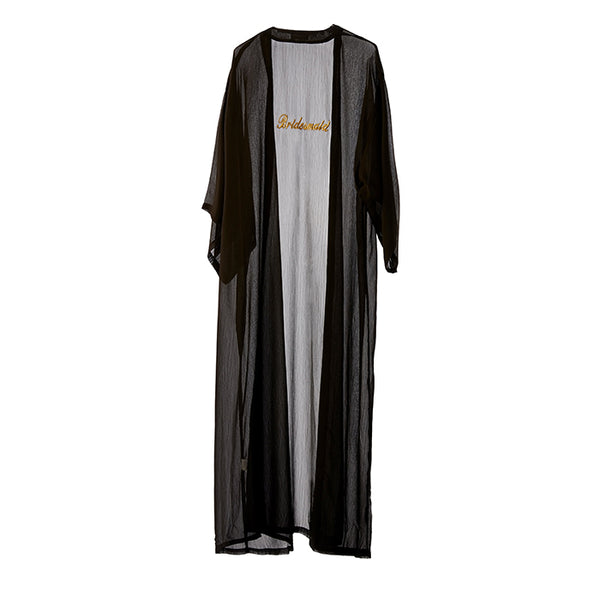 Personalised Black Kaftan