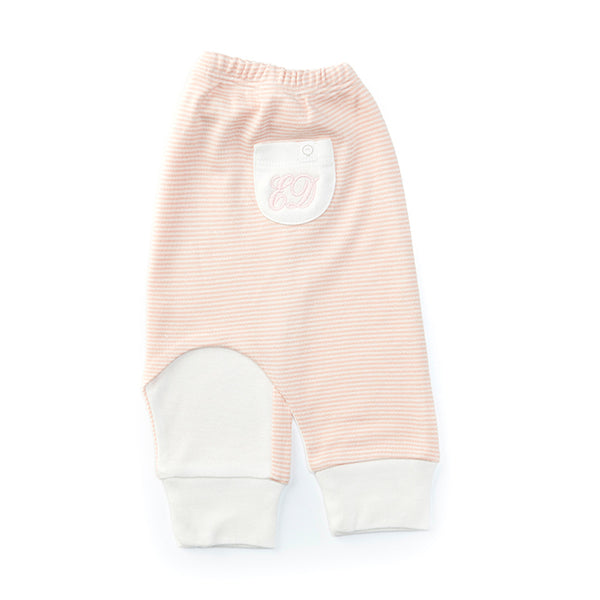 Personalised HA Mini Mori T Shirt & Yoga Trouser Gift Set - Pink