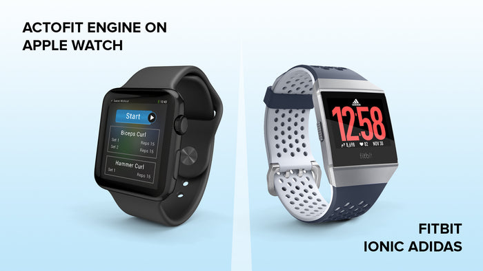 Fitbit Ionic Adidas Vs Apple Watch Actofit