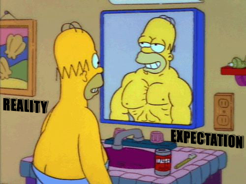 Workout Tip: Get rid of that mirror, right now!