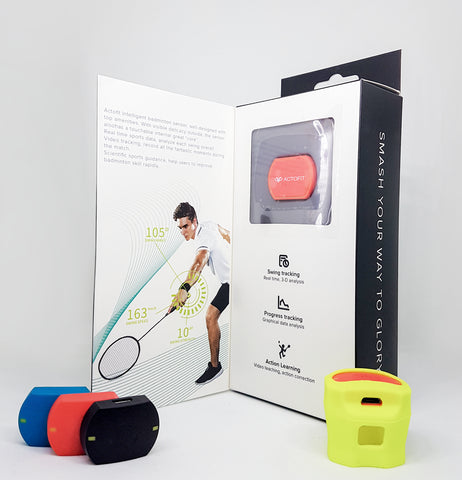 Actofit Badminton Tracker Packaging!