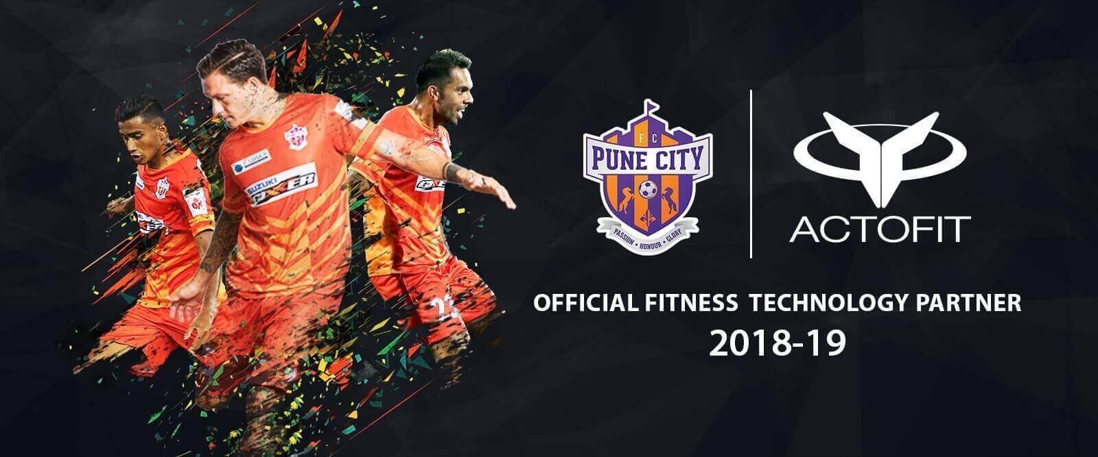 FC Pune, Actofit fitness tracker