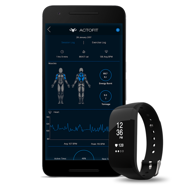 Actofit Fitness Tracker