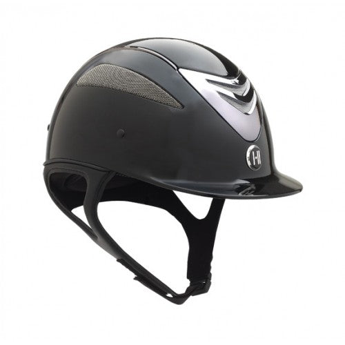 Photo of One K Defender Helmet in Glossy Black Chrome