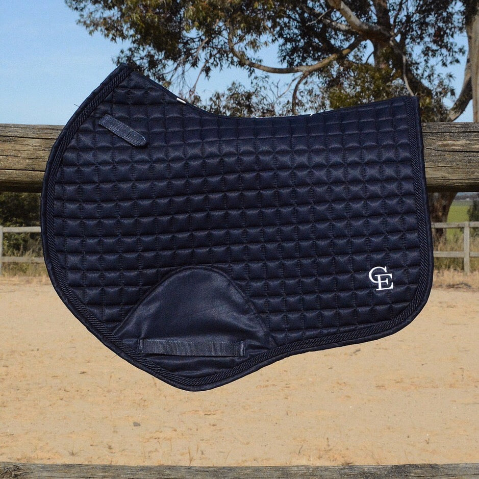 Caboose Equestrian Classic Close Contact Jump Pad | MIDNIGHT