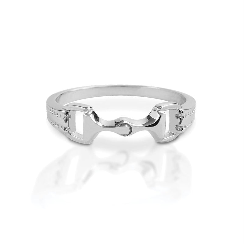 Kelly Herd Sterling Silver Bit Ring