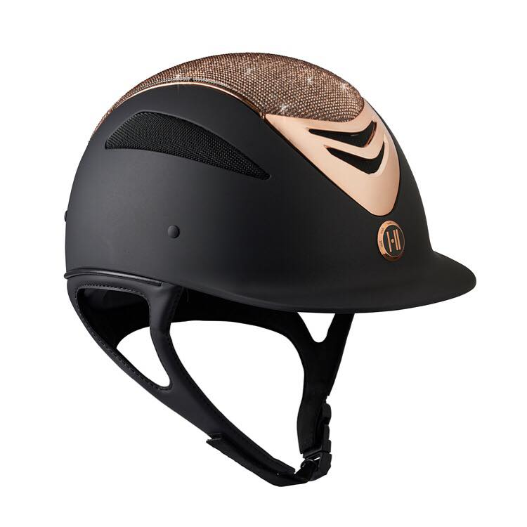 One K Defender Glamour Rose Gold Helmet