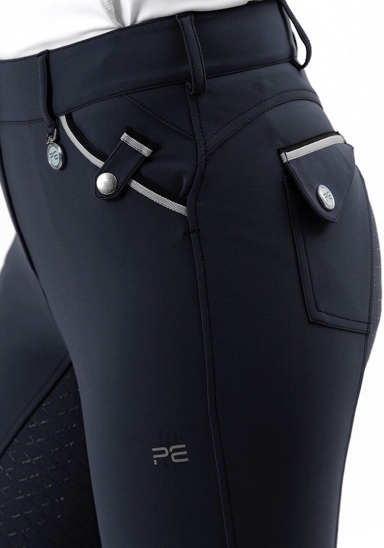 Premier Equine Coco Ladies FS Breeches | Navy