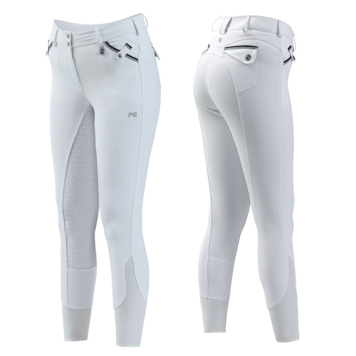 Photo of Premier Equine Coco Ladies FS Competition Breeches in White