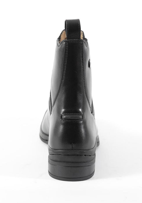 Photo of Premier Equine Balmoral Paddock Riding Boots in Black Back View