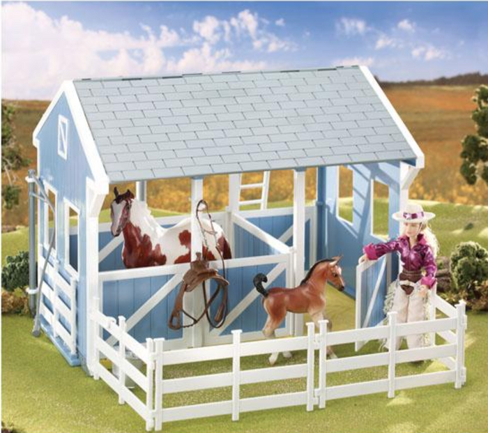 Breyer Classic Country Stable with Wash Stall with accessories sold seperately
