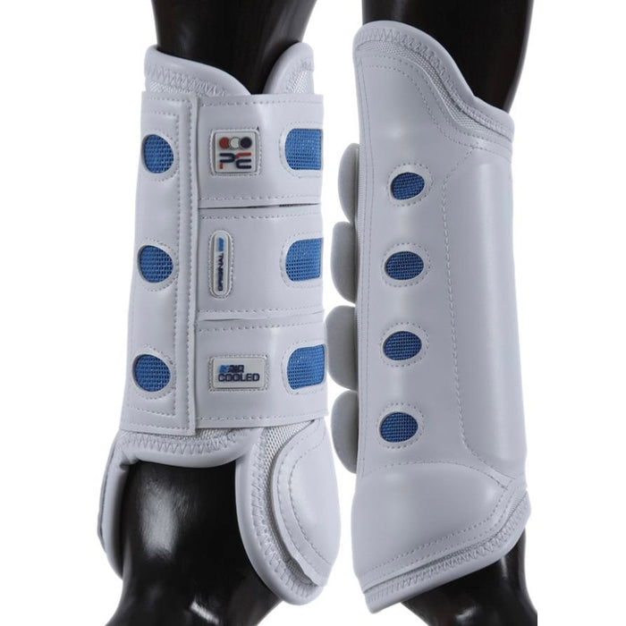 Photo of Premier Equine Original Eventing Boots in White