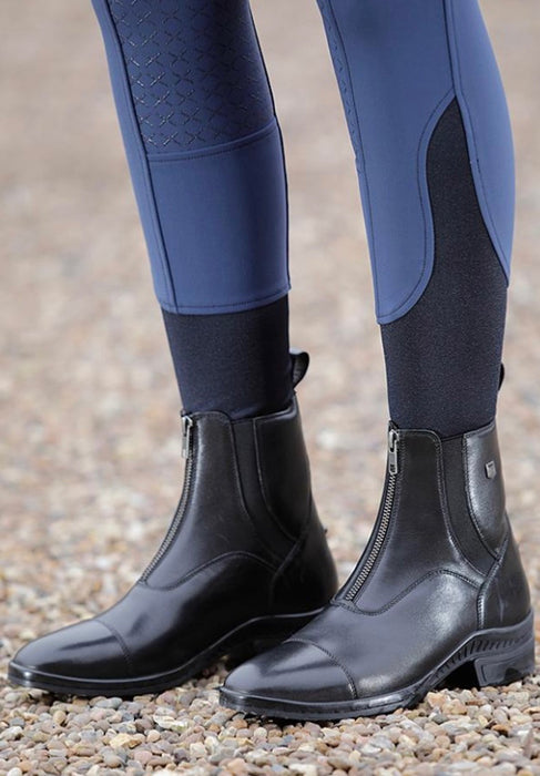 Photo of person wearing Premier Equine Balmoral Paddock Riding Boots in Black