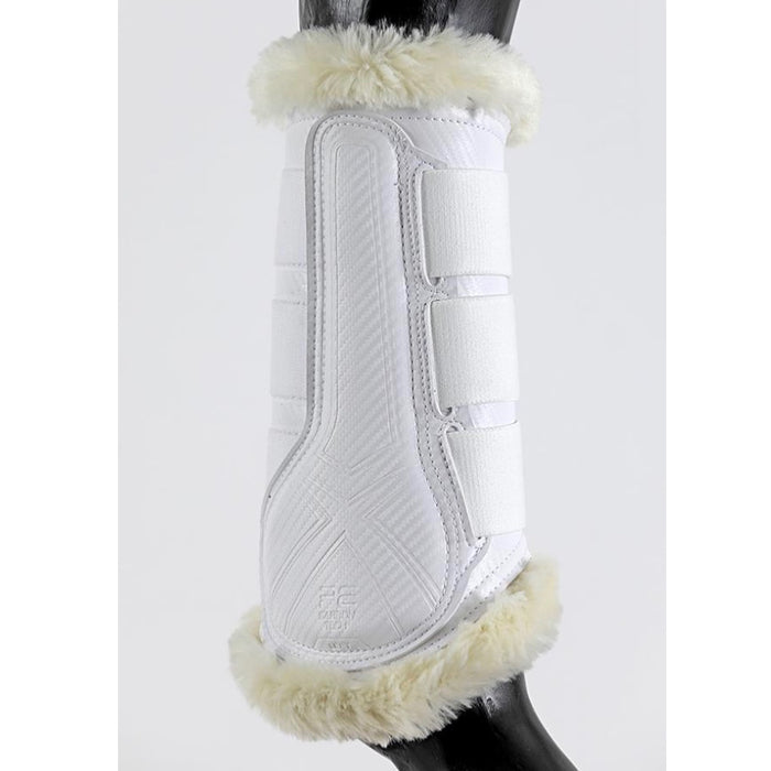 Photo of Premier Equine Air-Tech Techno Wool Brushing Boots inner in White